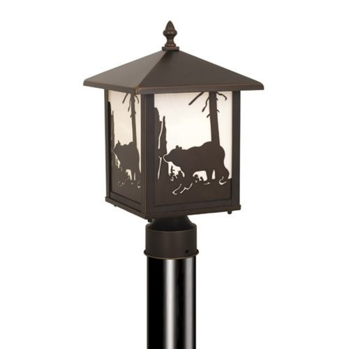 Vaxcel One Light Outdoor Post OP35085BBZ One Light Outdoor Post [Burnished Bronze]