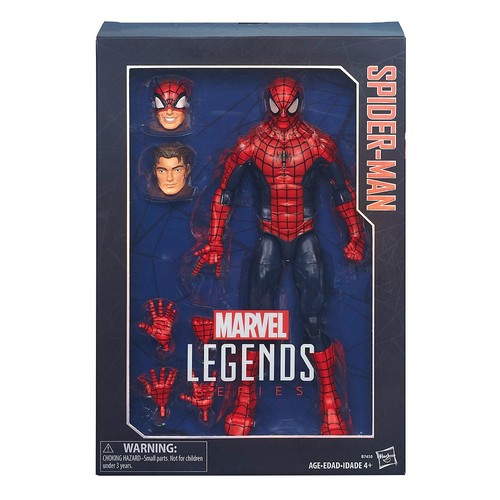 Marvel Legends Series 12-in. Spider-Man by Hasbro