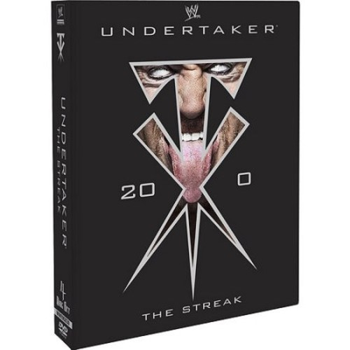 WWE: Undertaker - The Streak [4 Discs] [DVD] [2012]