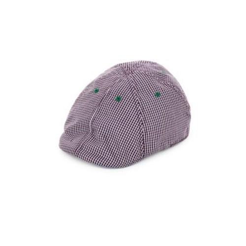 Robert Graham - Embroidered & Check Duckbill Cap