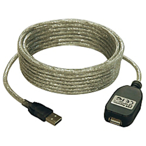 Tripp Lite 16ft USB 2.0 A/A Active Extension Cable USB-A Male / Female 16'