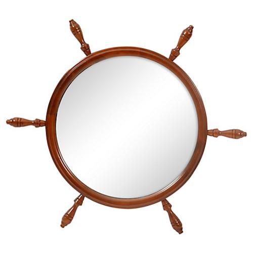 Mariner's Wheel Wall Mirror