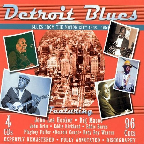 Detroit Blues: Blues from the Motor City 1938-1954 [CD]