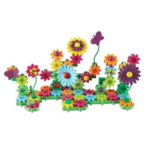 Learning Resources Build & Bloom Flower Garden Gears