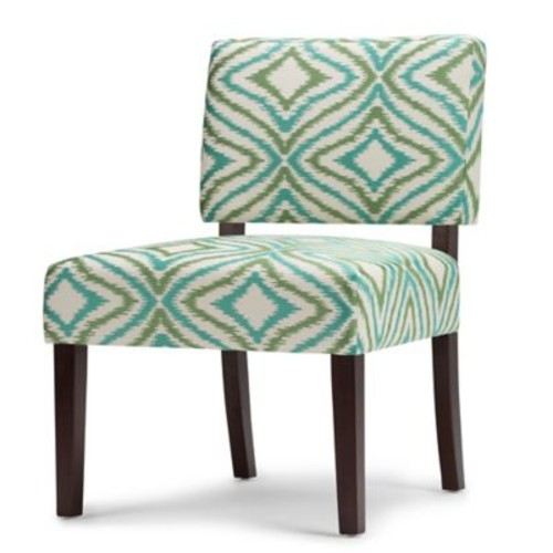 Simpli Home Virginia Upholstered Accent Chair