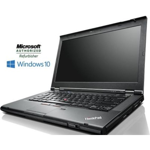 Refurbished Lenovo 14in Thinkpad T430 Notebook Intel Core i5 8GB RAM 160GB SSD Windows 10 Pro