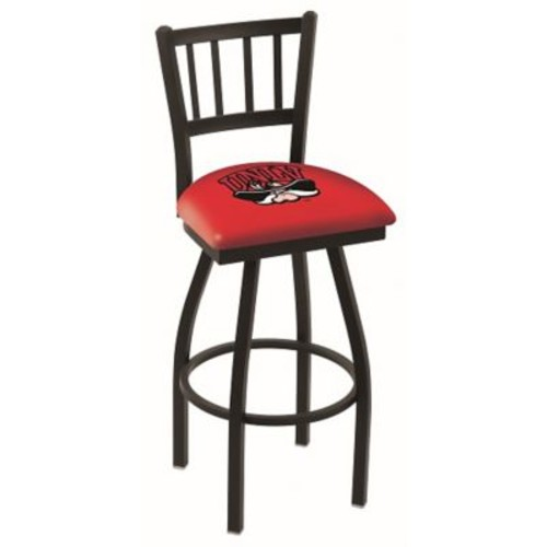 Holland Bar Stool NCAA 39'' Swivel Bar Stool; UNLV Rebels