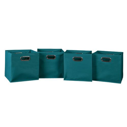 Niche Cubo Foldable Fabric Storage Bin - Teal