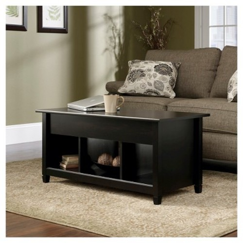 Edge Water Lift Top Coffee Table - Estate Black - Sauder