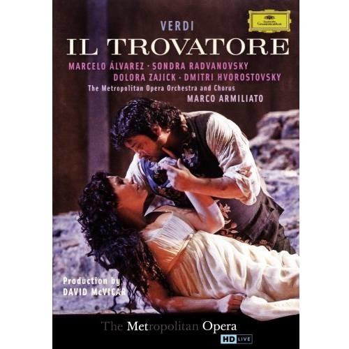 Verdi: Il Trovatore [Blu-Ray Disc]