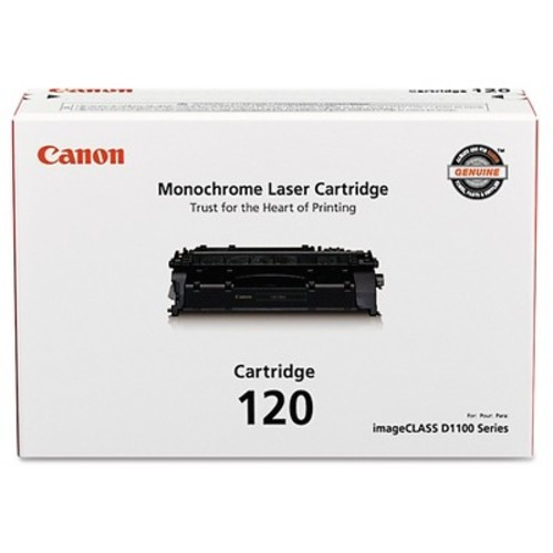 Canon 120 Toner Cartridge - For Canon imageCLASS Printers - D1120, D1150, D1170, D1180, Black - 2617B001