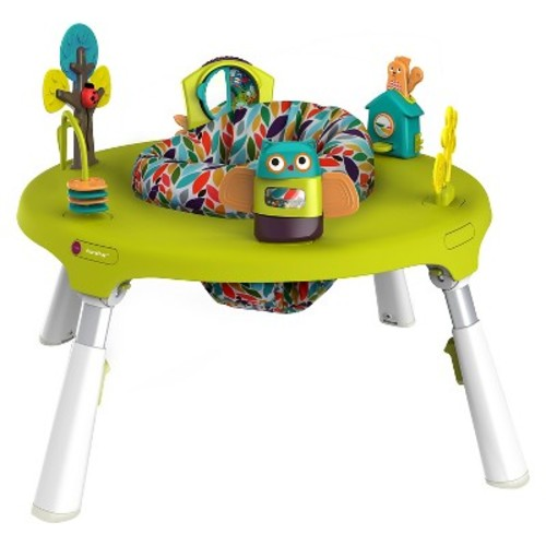 Oribel PortaPlay 4 in 1 Foldable Activity Center  Forest Friends