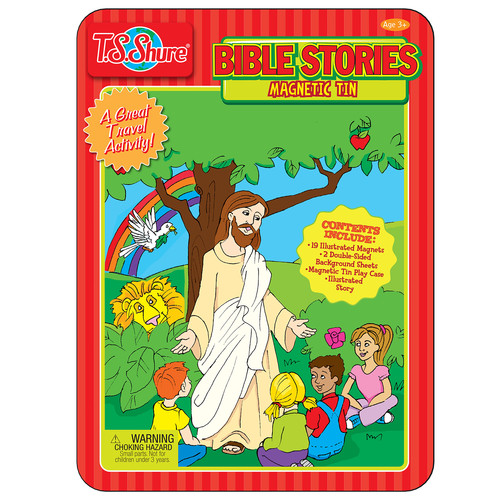 TS Shure Bible Stories Magnetic Tin Playset