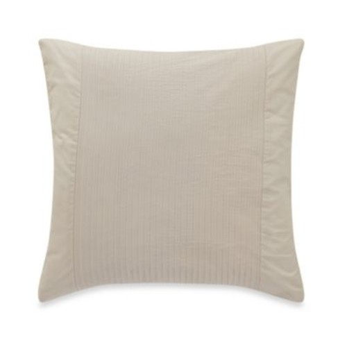 Barbara Barry Simplicity Stitch 18-Inch Square Throw Pillow in Silver Birch