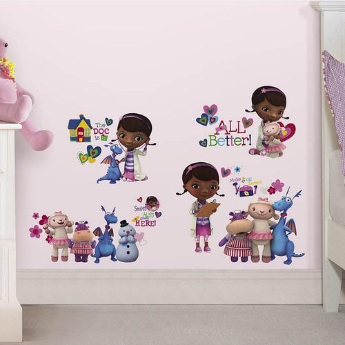 RoomMates Disney Doc McStuffins Peel and Stick Wall Decals