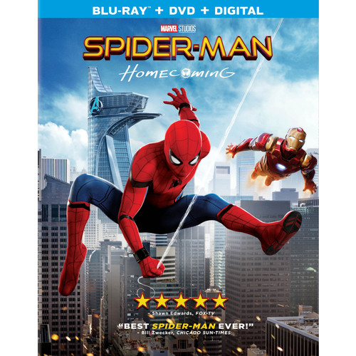 Spider-Man: Homecoming (Blu-ray / DVD / Digital)