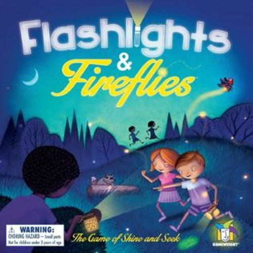 Gamewright Games - Ceaco Gamewright - Flashlights & Fireflies Kids New Toys 417