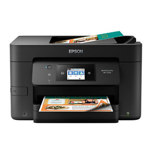 Epson WorkForce Pro WF-3720 Wireless All-In-One Printer, Copier, Scanner, Fax