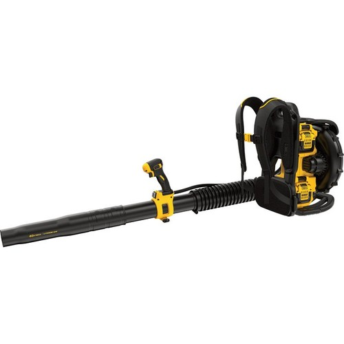 DeWalt 40V MAX Lithium Ion XR Brushless Backpack Blower with 2 Batteries  7.5 Ah, 450 CFM,
