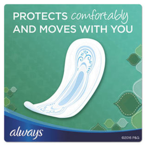 Always Ultra Thin Super Pads Without Wings 40 count