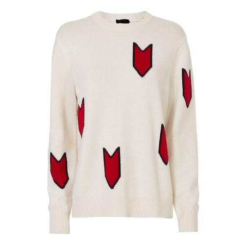 RAG & BONE Jackson Arrow Print Sweater