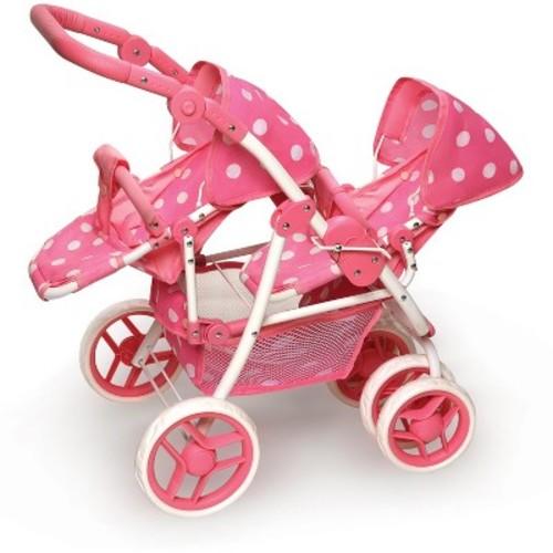 Badger Basket Reversible Double Doll Stroller