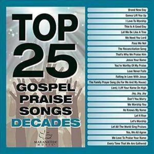 Various - Top 25 Gospel Praise Decades (CD)