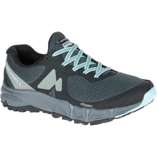 MERRELL Women's Agility Charge Flex Trail Running Shoes, Black