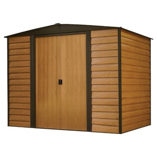 Arrow Woodridge 8 ft. x 6 ft. Steel Storage Building