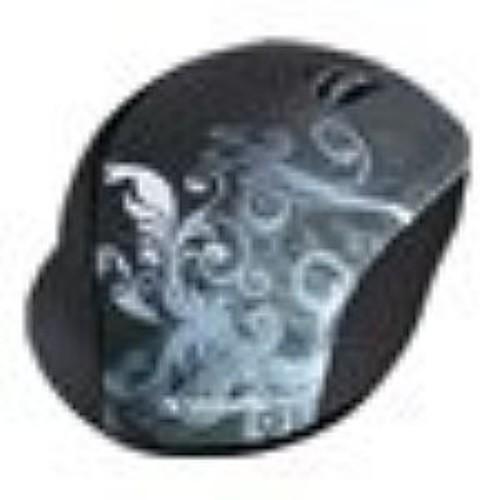Verbatim Wireless Optical Design Mouse - Mouse - optical - wireless - 2.4 GHz - USB wireless receiver - (97786)