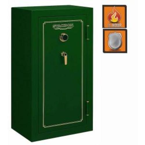 Stack-On 24-Gun Fire Safe Combination Lock in Matte Hunter Green