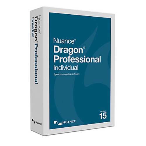 Nuance Dragon Professional Individual, v15, Traditional Disc