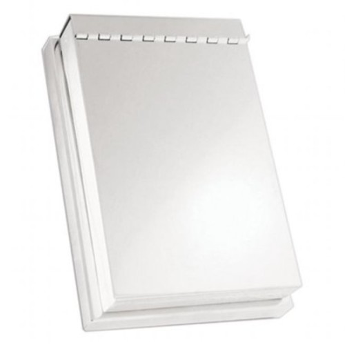 Natico Silver Note Pad Holder (30-418)