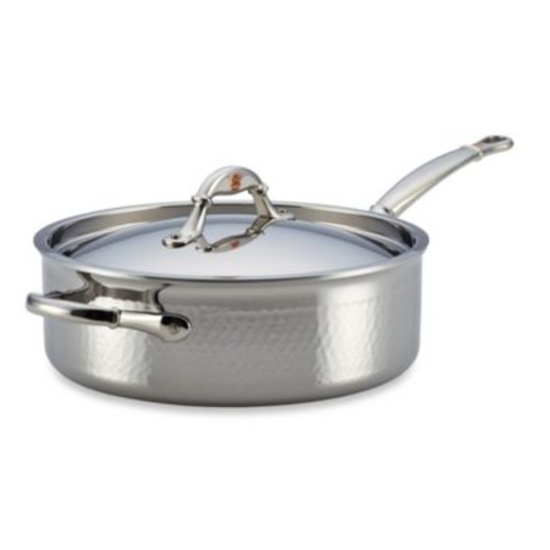 Ruffoni Symphonia Prima 5-Quart Stainless Steel Covered Saut Pan