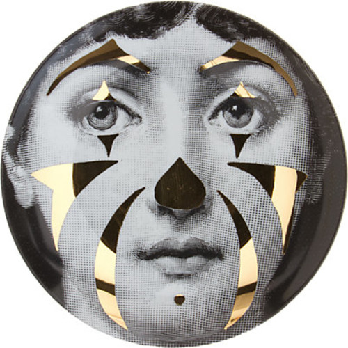 Fornasetti Theme & Variations Plate No. 122
