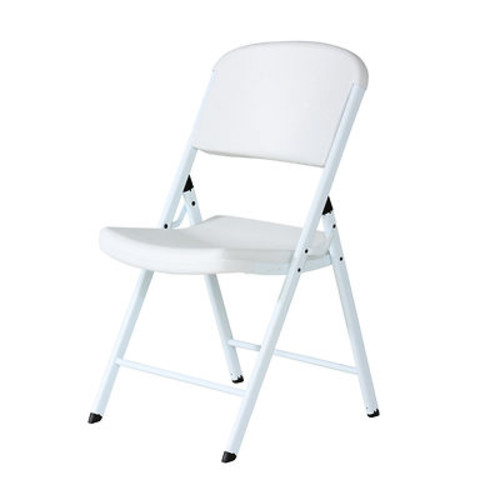 Lifetime Classic Commercial Folding Chair, 4 pk. - White/White