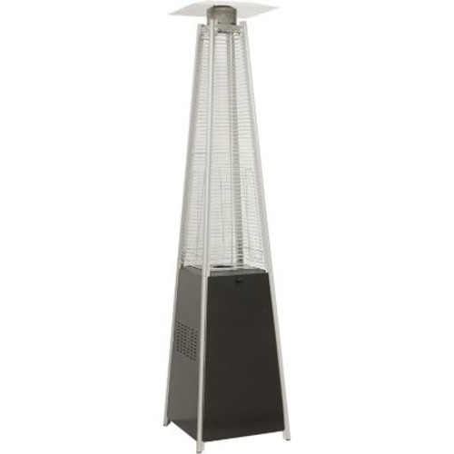 Hanover 7-Ft. 42,000 BTU Pyramid Propane Patio Heater in Black