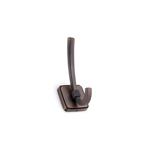 Richelieu Hardware 4-27/32 in. (123 mm) Brushed Oil-Rubbed Bronze Decorative Hook