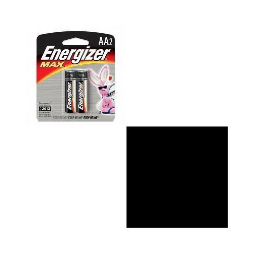 Energizer MAX Alkaline Batteries, AA, 2 Batteries/Pack [1]