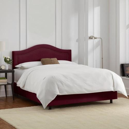 Velvet Berry Full Inset Nail Button Bed