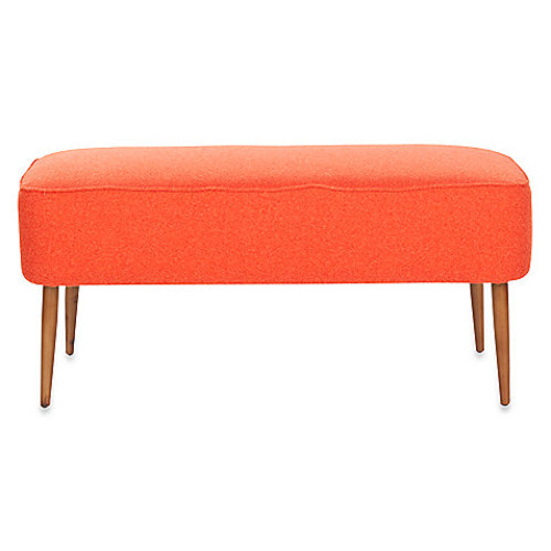 Safavieh Levi Bench in Orange