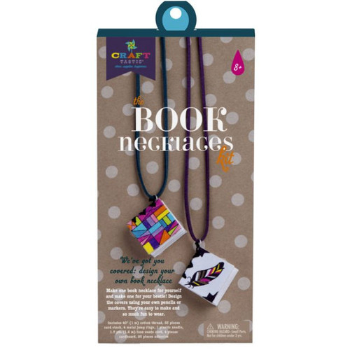 CRAFT-TASTIC BOOK NECKLACES KIT
