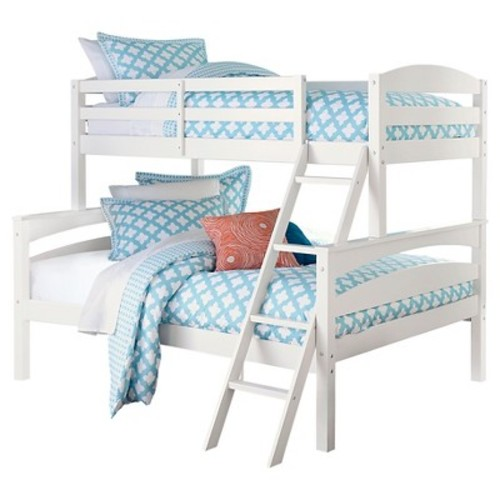 Maddox Bunk Bed (Twin Over Full) White - Dorel Living