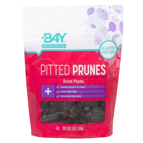 B4Y Pitted Prunes, 7 oz