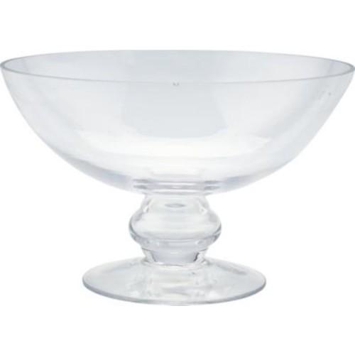 Diamond Star Glass Glass Bowl Hurricane