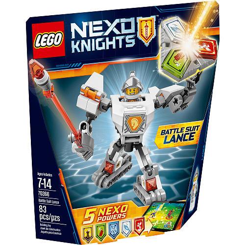 LEGO Nexo Knights: Battle Suit Lance (70366)
