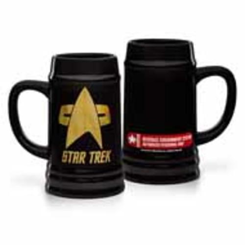 Exclusive Star Trek Logo Stein