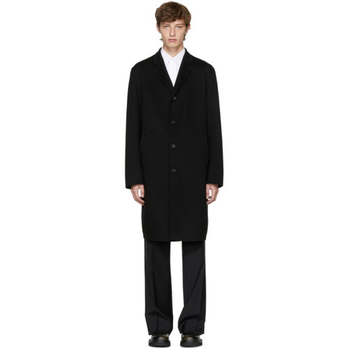 JIL SANDER Black Maratea Coat