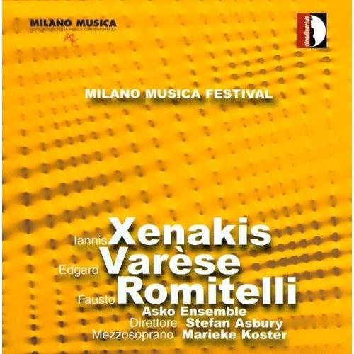 Festival Milano Musica Live, Vol. 2 [CD]