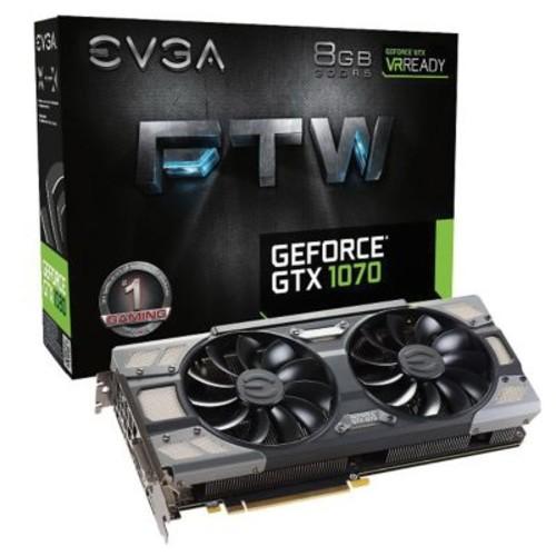 EVGA GTX 1070 FTW GDDR5 256-bit PCI Express x16 3.0 8GB Gaming Graphic Card